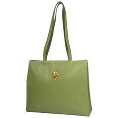 Dior Christian  Christian  vintage Womens tote bag green