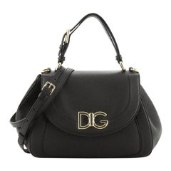 Dolce & Gabbana Wifi Top Handle Bag Leather
