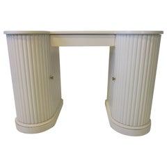 Double Pedestal Column Regency Vanity / Writing Desk by Kittinger