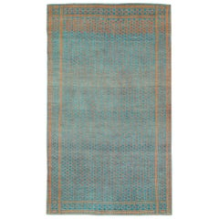 Double-Sided Reversible Mid-20th Century Persian Flat-Weave Kilim Accent Rug