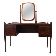 Dressing Table in Rosewood of Danish Design from the 1960s