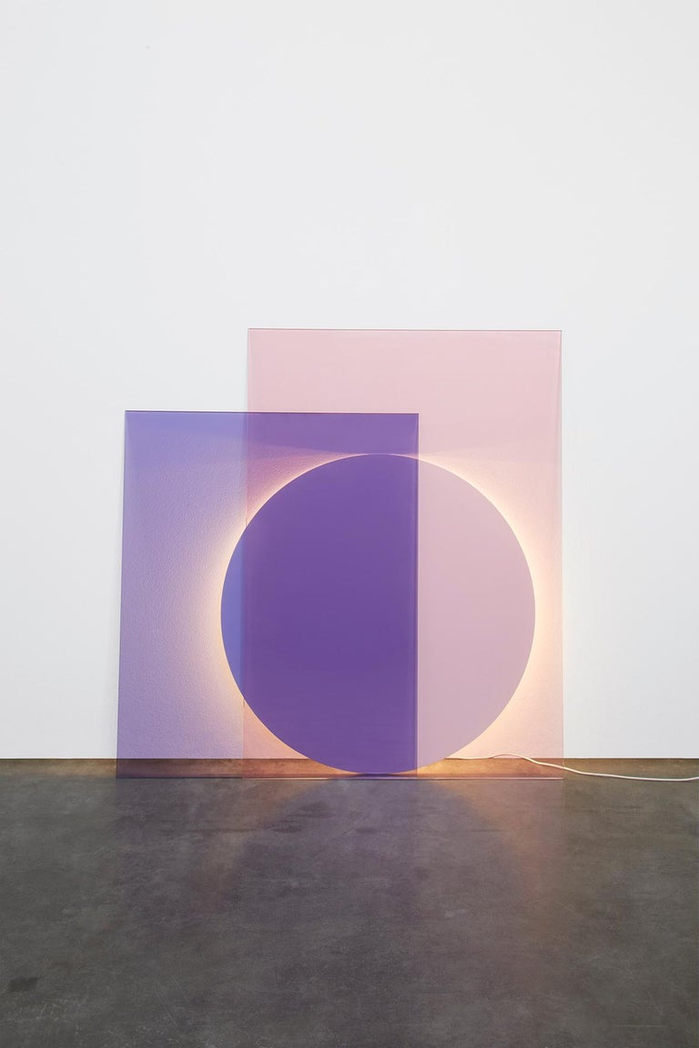 Minimalism, theatricality and architecture illustrate the essence of color by Norwegian designers Daniel Rybakken and Andreas Engesvik. In its refined simplicity free of conventional aesthetics, the light color expands the field of sculpture and