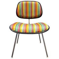 Eames EC127 Padded DCM Chair with Alexander Girard Fabric