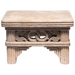 Early 17th Century Chinese Interlocking Ring Stone Table