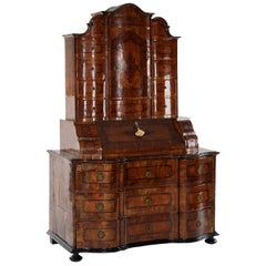 Early 18th Century Bavarian Bureau Cabinet