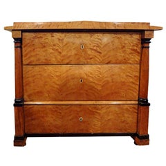 Early 19th Century Austrian Biedermeier Commode or Chest