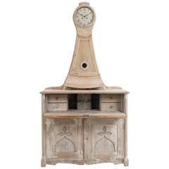 Early 19th Century Swedish Clock Cabinet