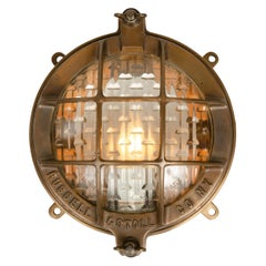 Early 20th Century Cast Bronze Lamp by Russell & Stoll Co.