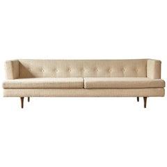 Edward Wormley Even Arm Sofa, Made by Dunbar, USA, 1950s