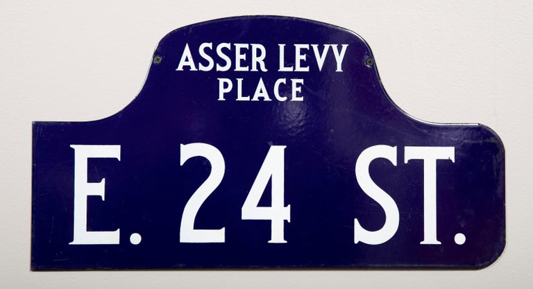 Eight NYC, New York Porcelain over Metal Enamel Street Signs For Sale 1