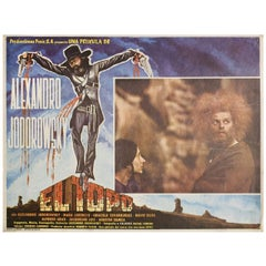 El Topo 1971 Mexican Scene Card