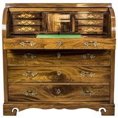 Elm Secretary Desk, circa the 19th Century