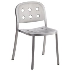 Emeco 1 Inch All Aluminum Stacking Chair by Jasper Morrison, 1stdibs Exclusive