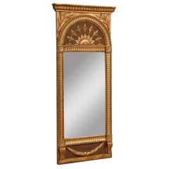 Empire Mirror by Carl A. Carlsson, Origin: Sweden, Signed and Dated, Circa 1916