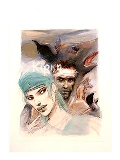 Enki Bilal - Circe - Original Lithograph