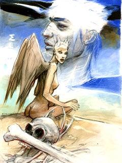 Enki Bilal - Mermaids - Original Lithograph