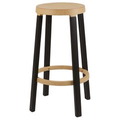 Established & Sons Tall Step Stool in Wood by Federico Gregorutti