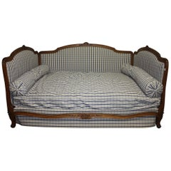 Exquisite 19th Century French Daybed