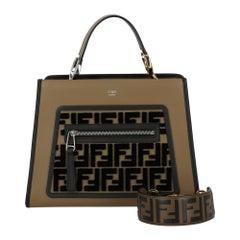 Fendi Women's Handbag Brown Leather