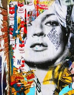 Kate Moss Street Art Photograph New York