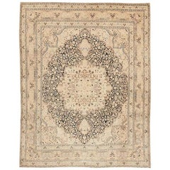 Fine and Decorative Antique Persian Khorassan Carpet