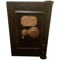Fine Original Victorian Safe by Richard M Lord of Wolverhampton