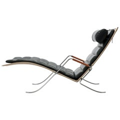 FK Grasshopper Lounge Chair by Jorgen Kastholm & Preben Fabricius