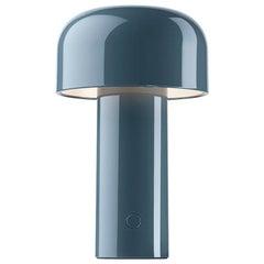 Flos Bellhop T Table Lamp in Grey Blue by Edward Barber & Jay Osgerby