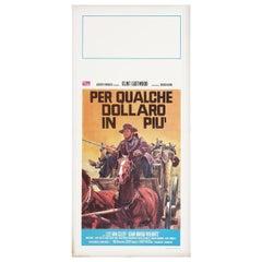 For a Few Dollars More R1971 Italian Locandina Film Poster