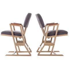Frank Lloyd Wright Custom Chairs
