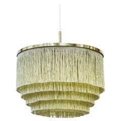 """Frants"" Fringe Ceiling Lamp by Hans-Agne Jakobsson, Sweden, 1960s"