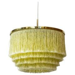 """""""Frants"""" Fringe Ceiling Lamp by Hans-Agne Jakobsson, Sweden, 1960s No.4"""