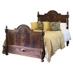 French Chateau Antique Bed WK131