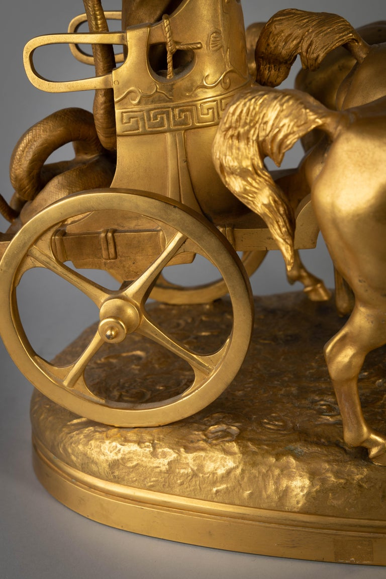 French Gilt Bronze Group of