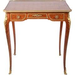 French Louis XVI Style Bureau Plat, 19th Century