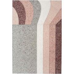 GAN Spaces Nuances Curve Rug by Patricia Urquiola