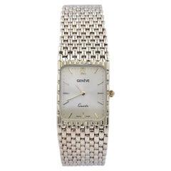 Geneve 14 Karat Yellow Gold Quartz Watch