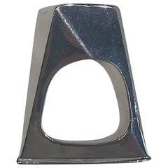 Georg Jensen 1960s Sterling Silver Ring No. 150 by Vivianna Torun Bülow-Hübe