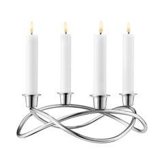 Georg Jensen Season Candleholder in Stainless Steel by Maria Berntsen