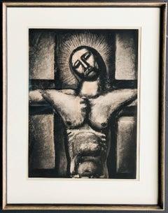 Obéissant jusqu'à la morte et à la morte de la croix.