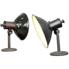 German Industrial Lamps, circa 1950s