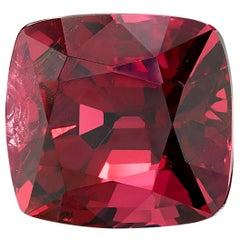 GIA Certified Unheated 4.60 Carat Cushion Red Spinel Loose Stone