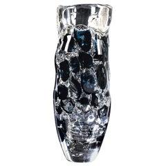 Giampaolo Seguso, La Pesca Vase, One of a Kind Murano Glass Art Works