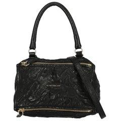 Givenchy Women's Handbag Pandora Black Leather