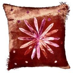 Glass Flower Cushion by Anna Paola Cibin