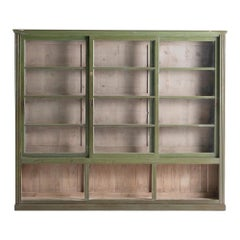 Green Display Cabinet