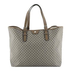 Gucci Belted Tote Diamante Coated Canvas Large