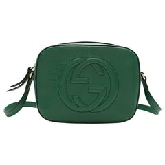 Gucci Emerald Soho Leather Disco Bag 21cm