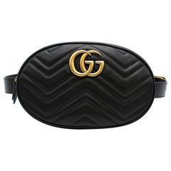 Gucci GG marmont matelasse leather belt bag
