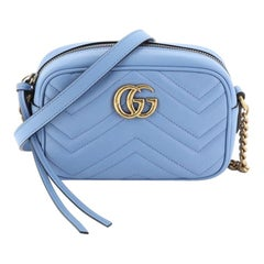 Gucci GG Marmont Shoulder Bag Matelasse Leather Mini